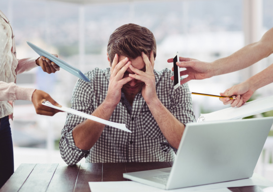 Постер к Эустресс и дистресс. Как избавиться от постоянного давления и тревожности
