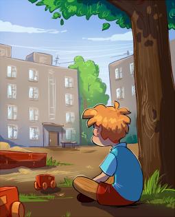 Постер к Детство Лёвы