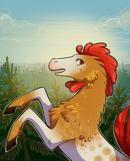 Постер к Куда скачет петушиная лошадь
