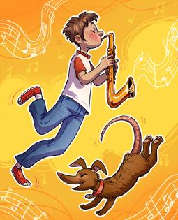 Постер к Моя собака любит джаз