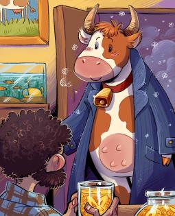 Постер к Из переписки с коровой