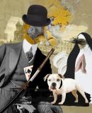 Постер к Автор постмодернистских детективов, сконструированных «по лекалу» в русле писательской стратегии