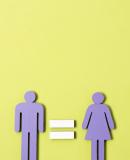 Постер к We should all be feminists. Дискуссия о равенстве полов
